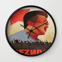 Vintage poster - Communism Wall Clock