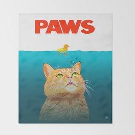Paws! Throw Blanket