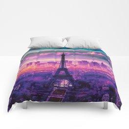 Beautiful Paris Comforters