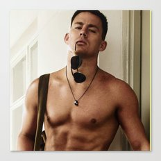 Channing Tatum Canvas Print