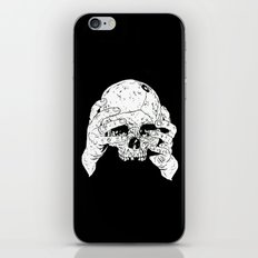 Skull In Hands iPhone & iPod Skin