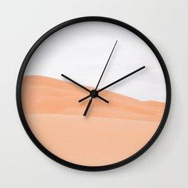 Desert Abstract - Sahara, Morocco Wall Clock