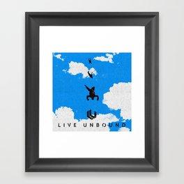 Live Unbound Framed Art Print
