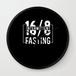 Intermittent Fasting Wall Clock