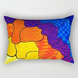 Organized Chaos - 3 Rectangular Pillow