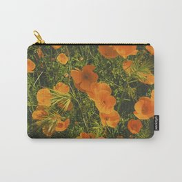 California Poppies 005 Carry-All Pouch