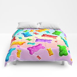Jelly Bear Party Comforters