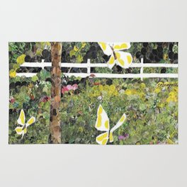 Butterfly Field Rug