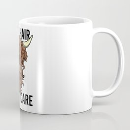 Wild Hair Don't Care Hipster Hairstyles Gift Coffee Mug