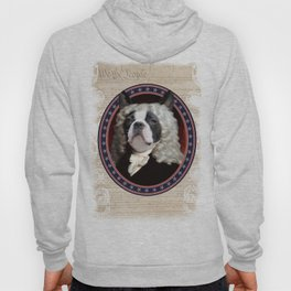 Boston Terrier Founding Father Hoody
