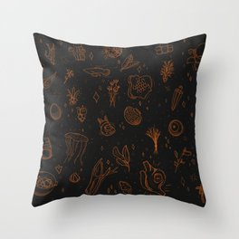 Alchemist's Tapestry Throw Pillow