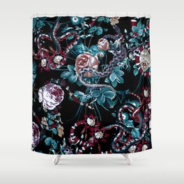Dangers in the Forest III-II Shower Curtain