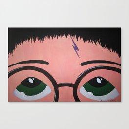 Harry's Eyes Canvas Print
