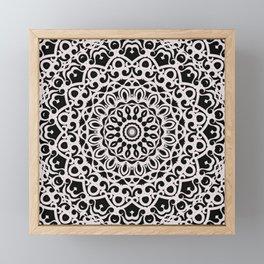 Tribal Mandala G385 Framed Mini Art Print