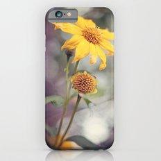 Yellow Florals iPhone 6s Slim Case