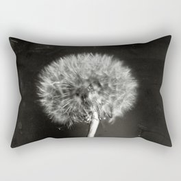 Dandelion Tintype Rectangular Pillow