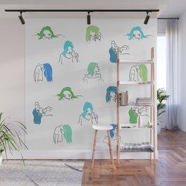 Moods Wall Mural