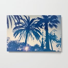 Palm tree II Metal Print