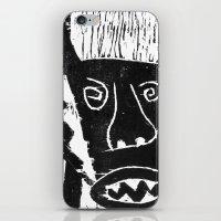 bull iPhone & iPod Skins featuring Bull by Hadar Geva