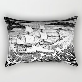 Galleon (line) Rectangular Pillow