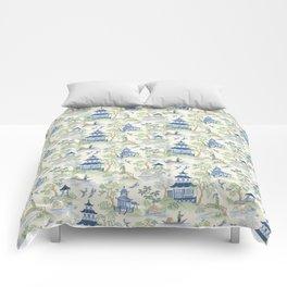 Chinoiserie Comforters