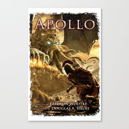 Apollo - Cover Art Canvas Print