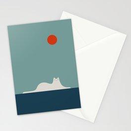 Cat Landscape 95 Stationery Cards