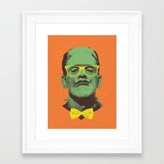 Mr Frank Framed Art Print