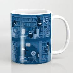 Silence in the Library Mug