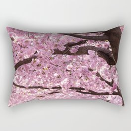 Cherry Blossom Trees Rectangular Pillow
