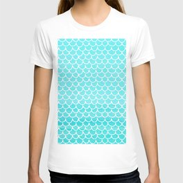 Let´s be mermaids- Aqua Mermaidscales - into the Sea T-shirt