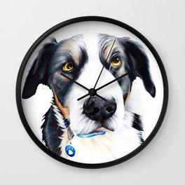 Kelpie Dog Wall Clock