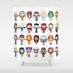 WOMEN WITH 'M' POWER Shower Curtain
