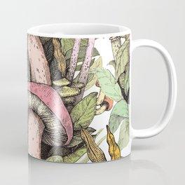mushrooms in the wild Coffee Mug