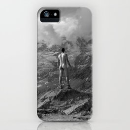 Awesome Nature Nude Hike iPhone Case