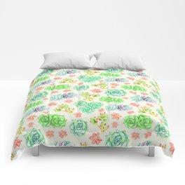 Succulents Comforters