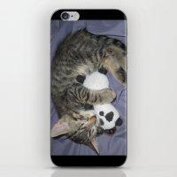 berserk iPhone & iPod Skins featuring Monroe Kitten by Berserk Cyborg Panda