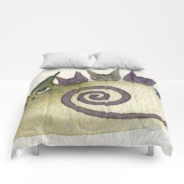 Missouri Whimsical Cats Comforters