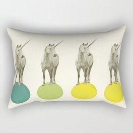 Unicorn Parade Rectangular Pillow