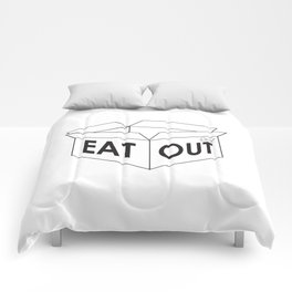 Eat Out Comforters
