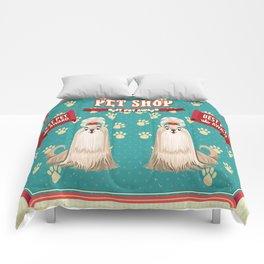 Retro Best Pet Award Comforters