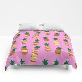 Hawaiian Slice (Pink) Comforters