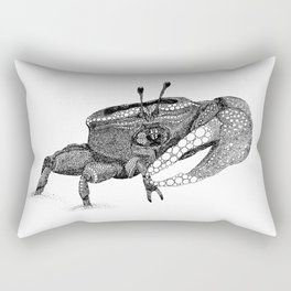 The Fiddler (Crab) Rectangular Pillow