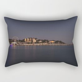 Torquay At Night Rectangular Pillow