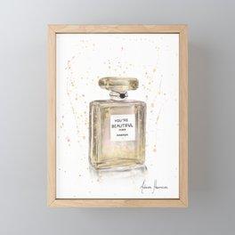 Beautiful Perfume Framed Mini Art Print