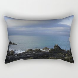 The Atlantic Ocean and Clouds in the Sky Rectangular Pillow