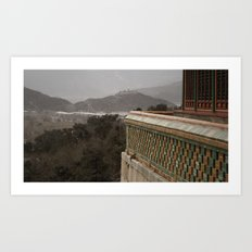 A View to a Hill Art Print