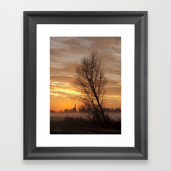 A New Day Dawning Framed Art Print