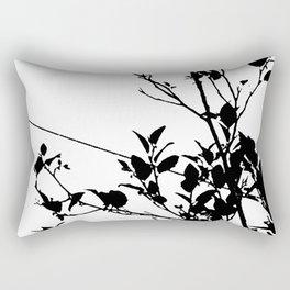 Botanical Contrast Rectangular Pillow