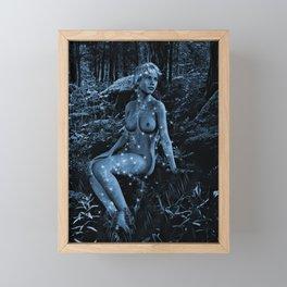 WOODLAND NYMPH Framed Mini Art Print